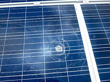 太陽電池モジュール・架台確認1