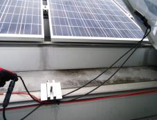 施工ミスによる直流ケーブルのループ接続