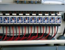 施工ミスによる直流ケーブルのPN極性逆接続